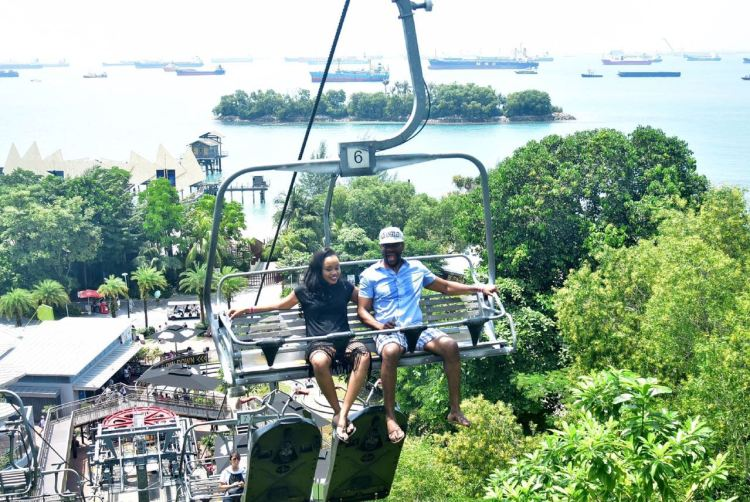 Free Hanging cable ride