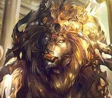 シャドウバース 真カード 黄金郷の獅子