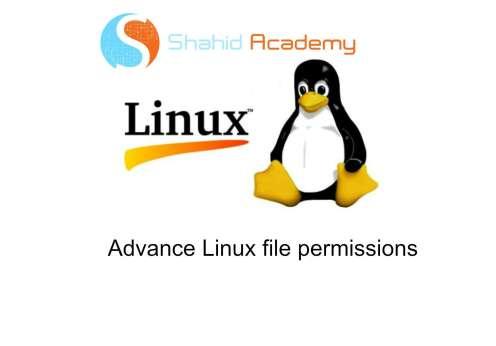 Linux-file-permissions-advance