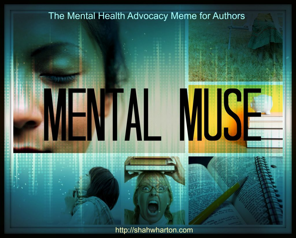 Mental Muse: The Mental Health Advocacy Meme for Authors Welcomes Shah Wharton