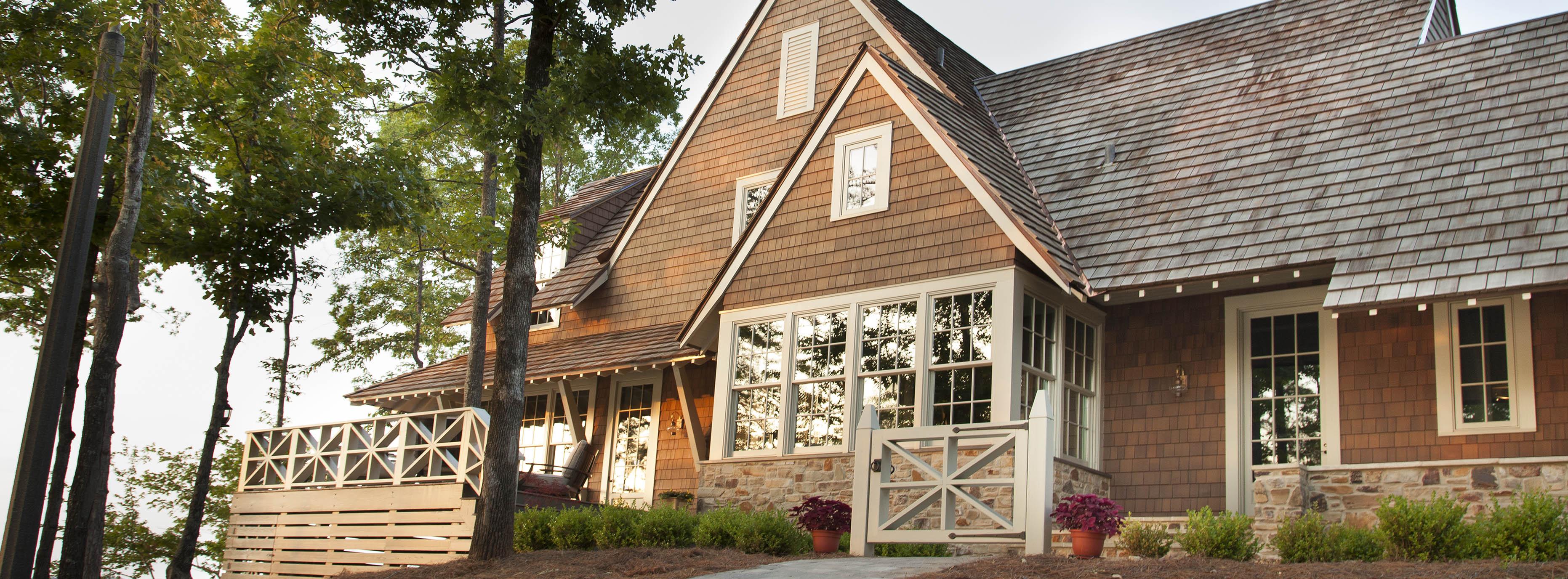 Attractive Shakertown Cedar Siding Cedar Shake Roofing Cedar Lap Siding Price Cedar Lap Siding Installation Instructions houzz-03 Cedar Lap Siding