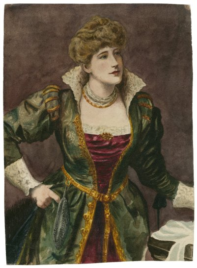 Ellen Terry as Beatrice