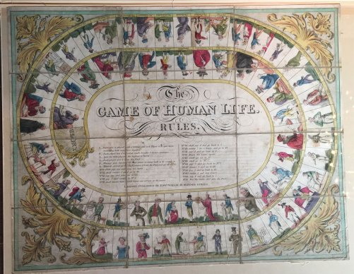 Seven Ages of Life game board