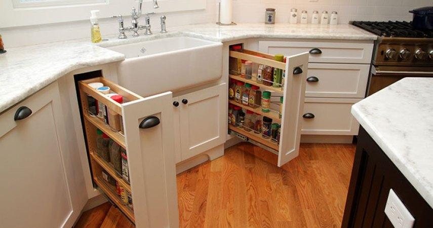 STARMARK KITCHEN Remodel spice cupboard doors
