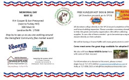 Memorial Day Fundraiser