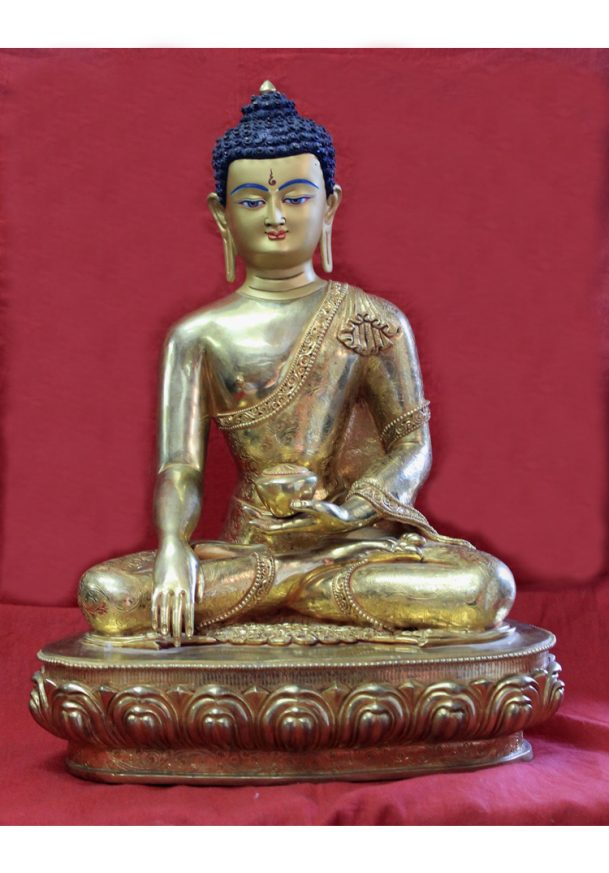 buy gold buddha statue for sale meditation altar