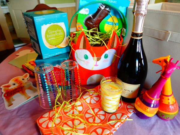 Easter basket contents on Shalavee.com