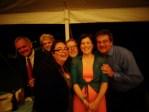 Me and the Mr. at Christina's wedding on Shalavee.com