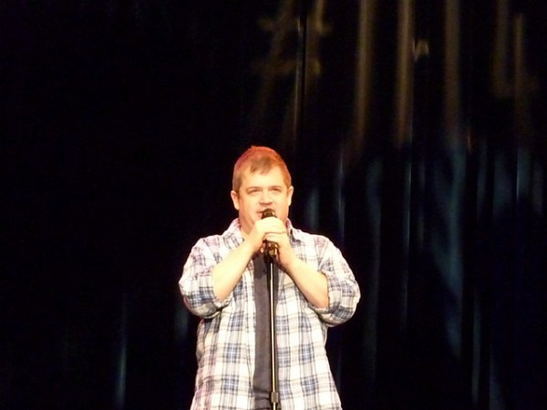 Patton Oswalt standing Up from I Met Ellen Twice and She's Nice on Shalavee.com