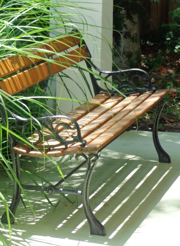 """Bench on the porch from """"Ould"""" words mean I'm conflicted on Shalavee.com"""