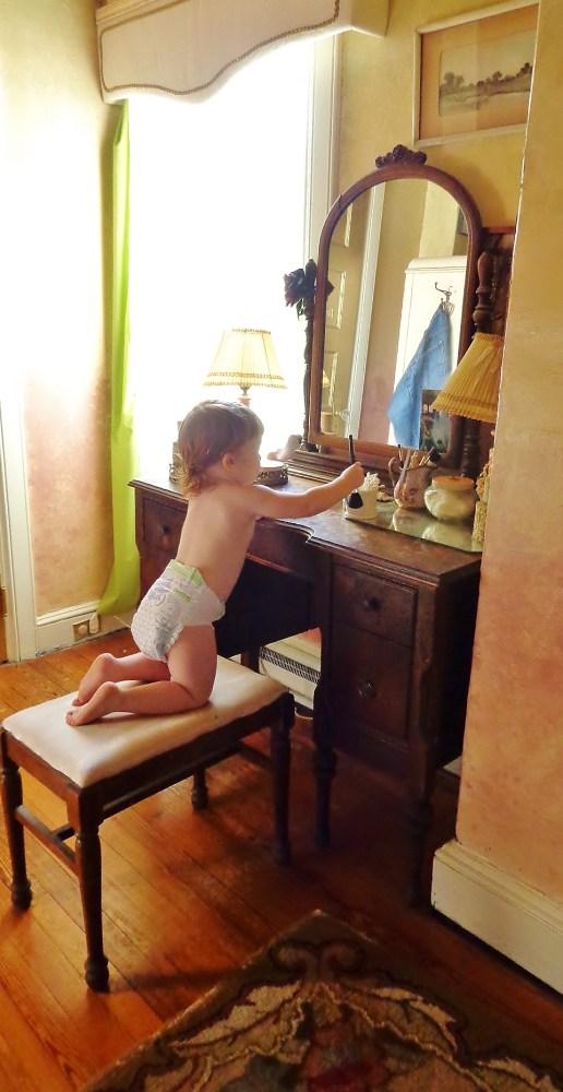 Mommy's vanity on Shalavee.com