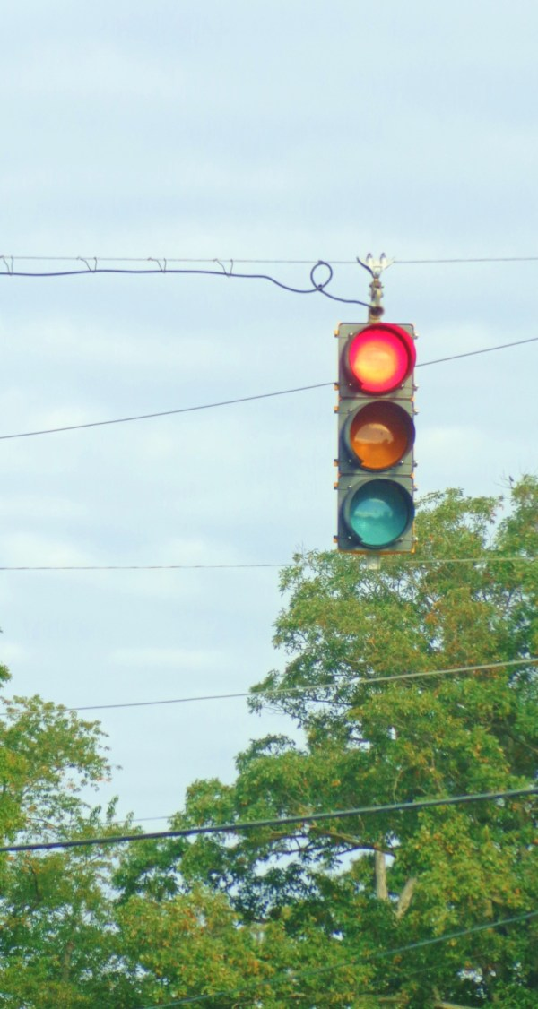 Traffic light on Eastern Shore on Shalavee.com