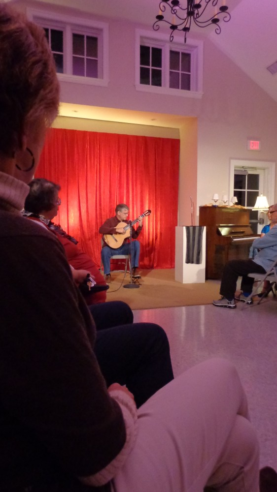 Phillip Sawyer's classical guitar at the UU Review on Shalavee.com