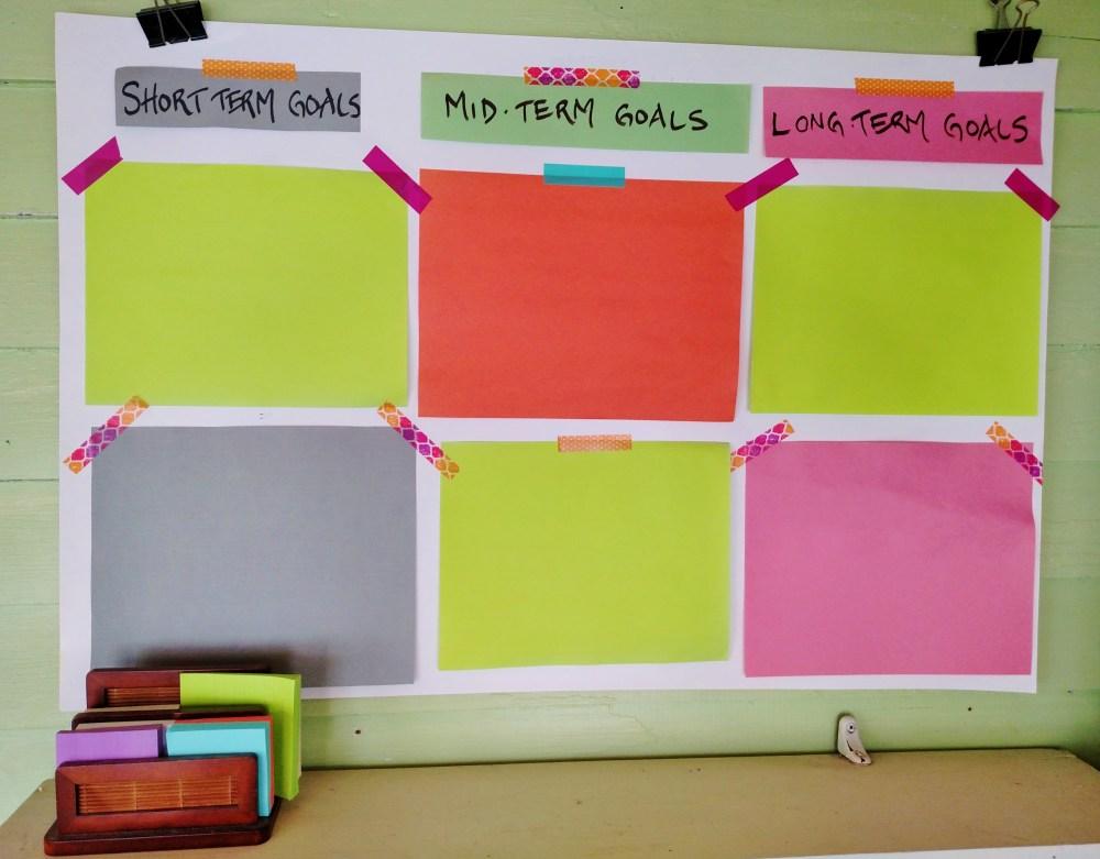 goal board