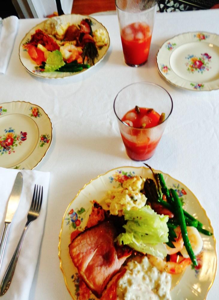 platefull of brunch at Turnbridge Point on Shalavee.com