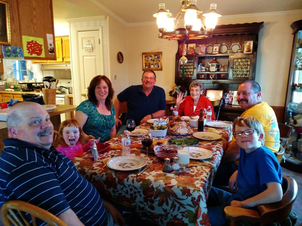 Thanksgiving dinner 2015 on Shalavee.com