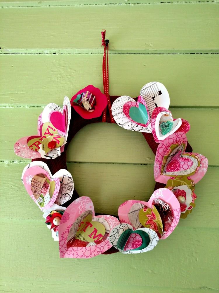 heart wreath on Shalavee.com