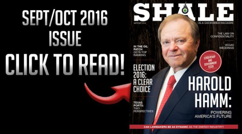 Sept/Oct 2016 – Harold Hamm, Continental Resources