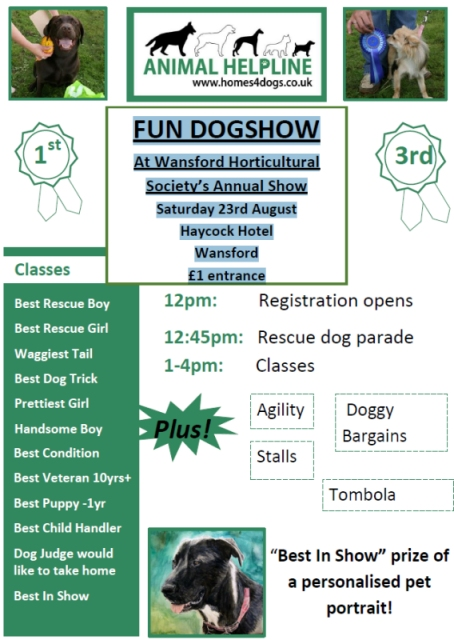 Wansford Dog Show