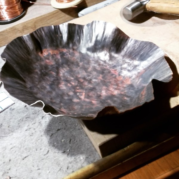 Made a Copper Bowl Recently