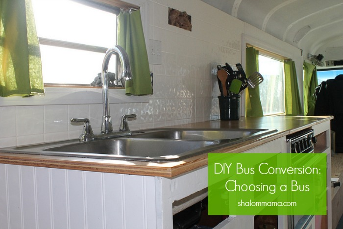 DIY Bus Conversion: Choosing Your Bus. Helpful tips for choosing a bus for your RV conversion.