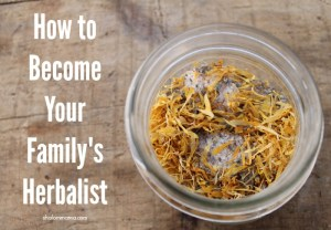 How to Become Your Family Herbalist