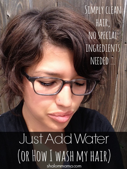 How I wash my hair (with one simple ingredient)