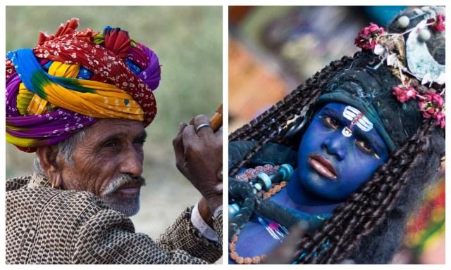 Pushkar-camel-fair-rajasthan-near-ajmer-old men- lord shiva-brahma temple