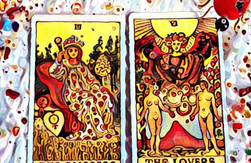 Mystique-of-tarot-cards-reader-#fridayfiction-The lover-The Empress - Tarot-Reader
