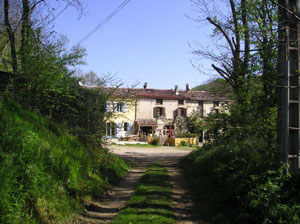 View of Maison Blaireau