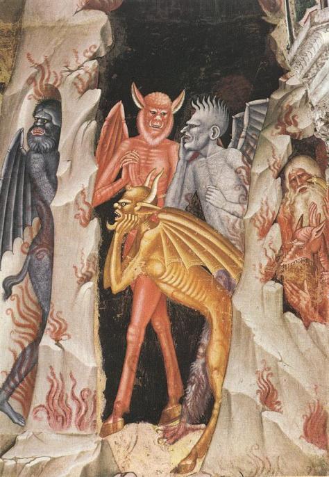 Andrea di Bonaiuto, Descent of Christ to Limbo (1368)