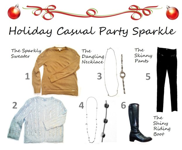 Holiday Casual Party Sparkle