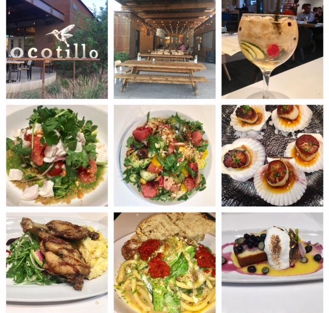 Ocotillo restaurant, Phoenix