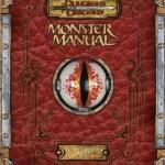 D&D Monster Manual 3.5 Edition Reprint with Errata