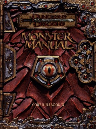 AD&D Monster Manual 3rd Edition