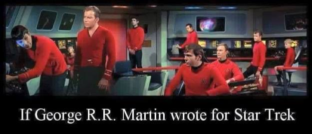 Spock, this isn't what I meant when I said take us to Red Alert!