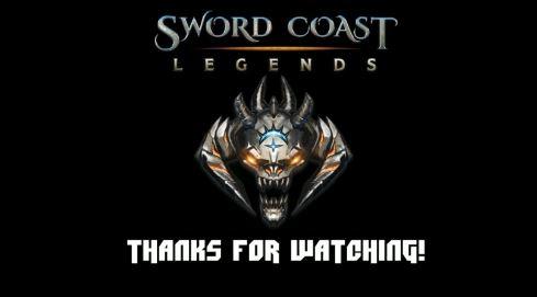 Sword Coast Legends live stream title
