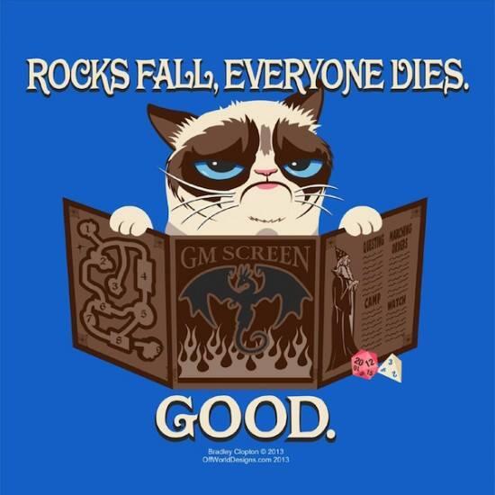 Grumpy Cat DM everyone dies meme