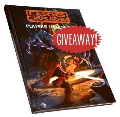 Castles & Crusades C&C Players Handbook giveaway
