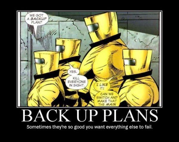 d&d meme back up plans