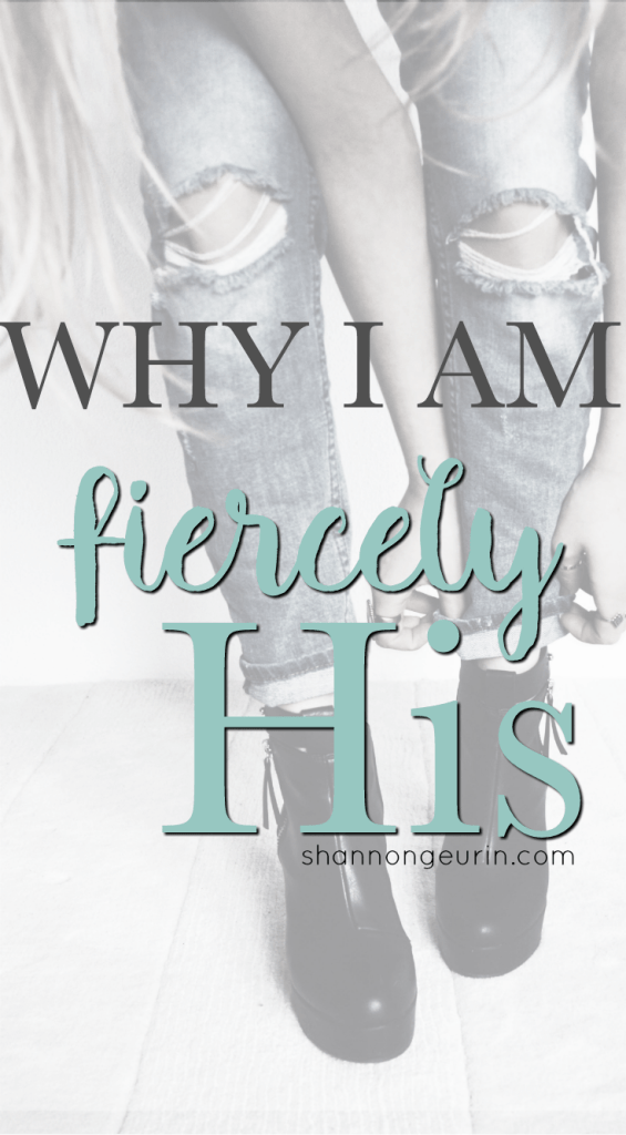 Fiercely His is something that I am passionate about and I'll explain why.
