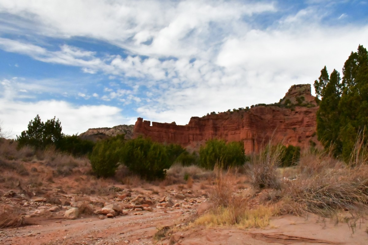 Breezy Hike at Caprock Canyons