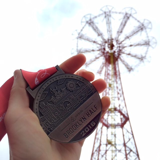 Brooklyn Half Medal
