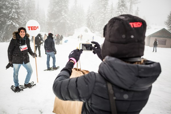 TEDx in the snow