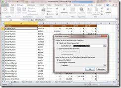 Pivot-Tabelle in Excel 2010 erstellen