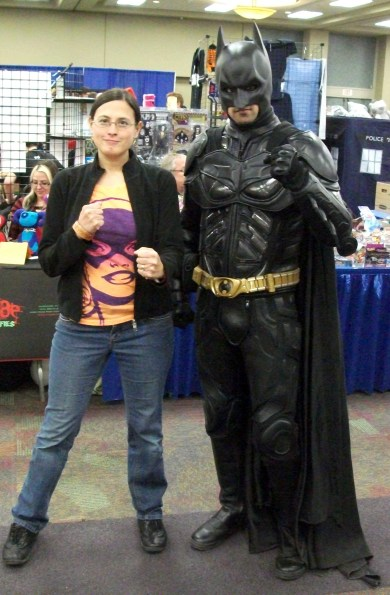 Me and Batman again