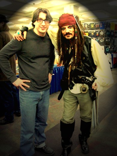 Hubby and Jack Sparrow