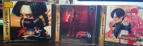 King of Fighters Sega Saturn