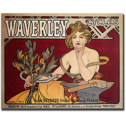 Waverley Cycles, Alphonse Mucha