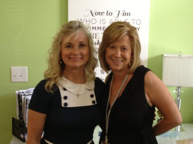 Renee Swope and Sharon